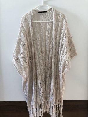 Trendige Kimono-ähnliche Bluse gestrickt