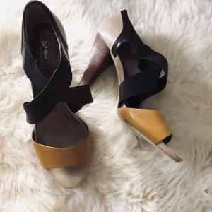 Trendige Sandaletten, Leder