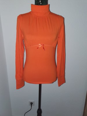 Black Label Turtleneck Shirt orange