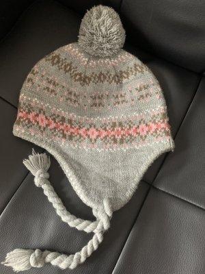 Bijou Brigitte Sombrero de Laponia multicolor tejido mezclado
