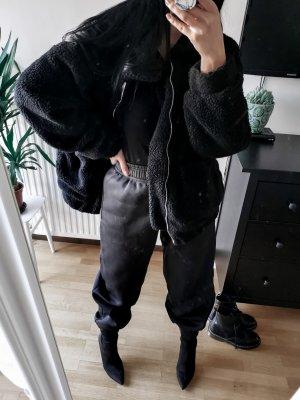 Chaqueta holgada negro