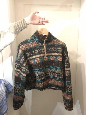 Trendiger Pullover mit Bohumuster