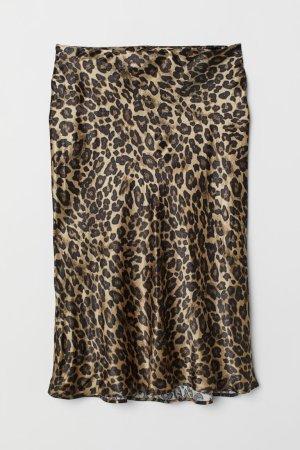 HM Silk Skirt multicolored viscose
