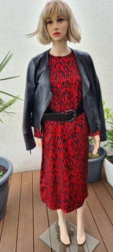Trendiges Kleid mit Animalprint