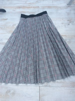 Made in Italy Plaid Skirt grey
