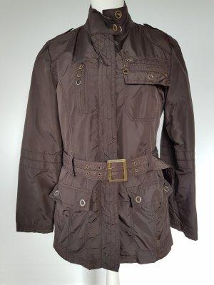 Tom Tailor Giacca militare marrone scuro-marrone