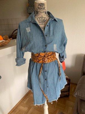 Koucla Jeansowa koszula jasnoniebieski-błękitny