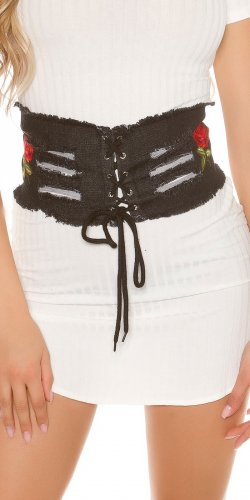 Instyle Waist Belt multicolored cotton