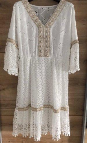 Trendy Kleid Ibiza Hippie Gr M