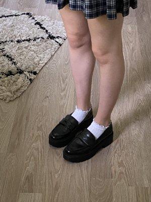 Bershka Chaussures Mary Jane noir