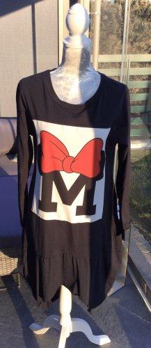 100% Fashion Vestido estilo camisa multicolor