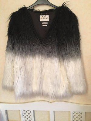 Trendy Rich & Royal Fake Fur Jacke
