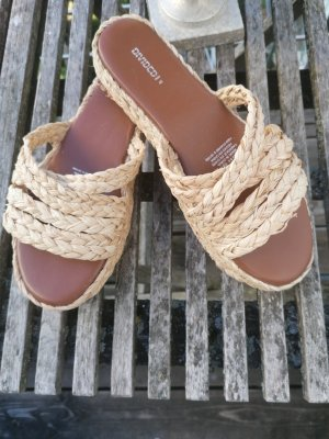 H&M Divided Clog Sandals beige