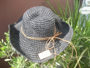 Sun Hat anthracite-brown