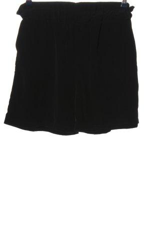 TRENDYOL Short taille haute noir style décontracté