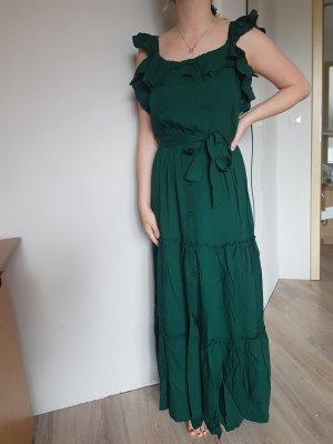 Trendyol Kleid grün Smaragd 36 NEU