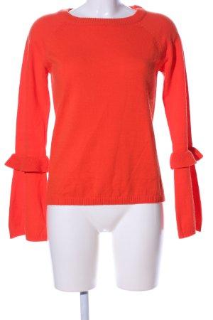 TRENDYOL Maglione girocollo rosso stile casual