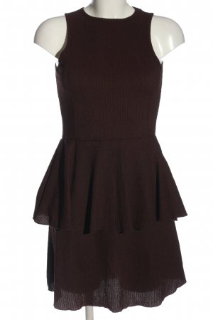 TRENDYOL Peplum Dress brown elegant