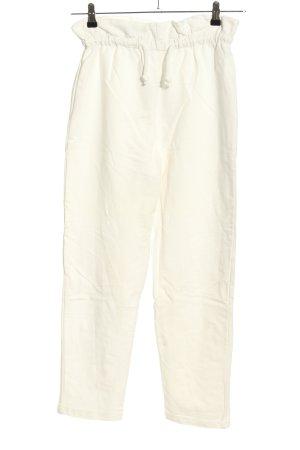TRENDYOL Pantalón deportivo blanco look casual