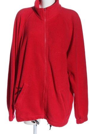 Trespass Kurtka polarowa czerwony W stylu casual