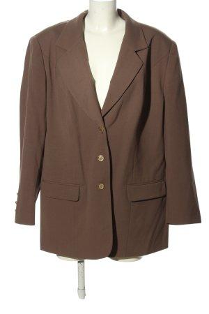 Trevira Long-Blazer braun Business-Look