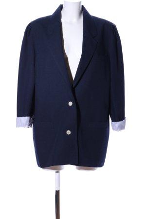 Trevira Long-Blazer blau Business-Look