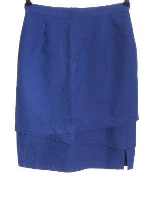 Trevira Spódnica midi niebieski W stylu casual