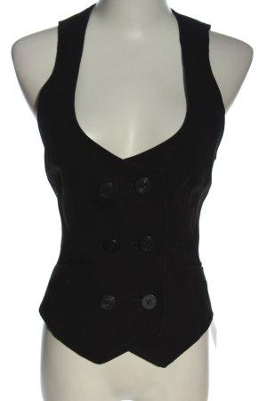 TRF Chaleco de vestir negro estilo «business»