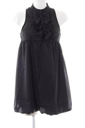 TRF Ballonkleid schwarz Elegant