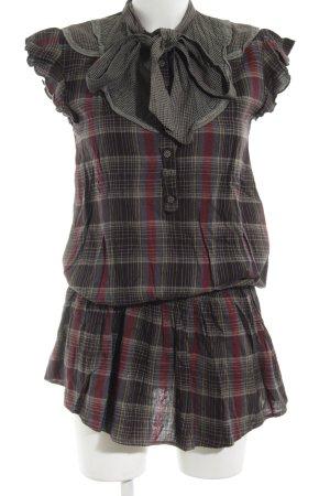 TRF Blusenkleid Karomuster Street-Fashion-Look