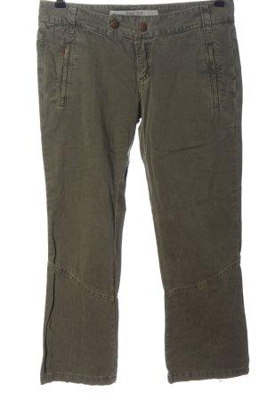 Trf by Zara 7/8 Length Trousers khaki casual look