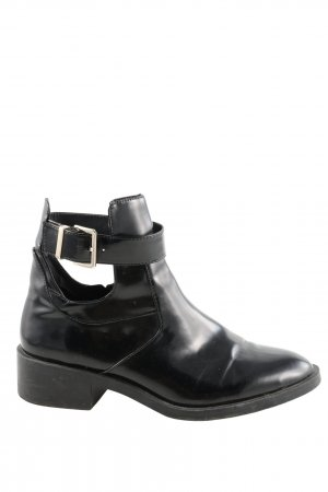 Trf by Zara Ankle Boots schwarz Casual-Look