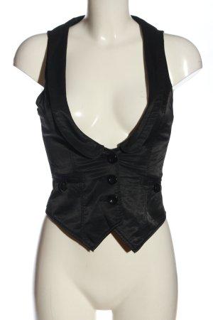 Trf by Zara Chaleco de vestir negro estilo clásico