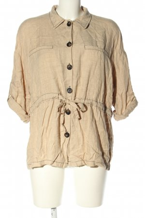 Trf by Zara Hemd-Bluse creme Casual-Look