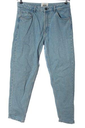 Trf by Zara High Waist Jeans blau Casual-Look