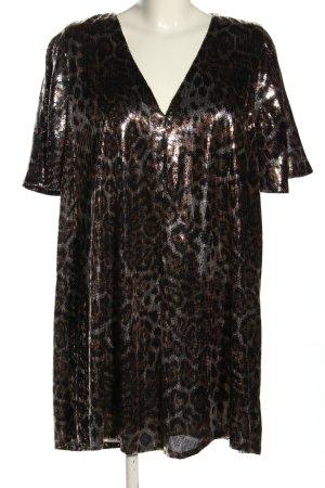 Trf by Zara Vestido de lentejuelas color bronce estilo extravagante