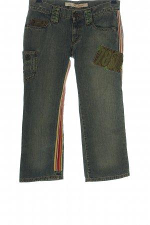 TRF Denim 3/4 Length Jeans multicolored casual look