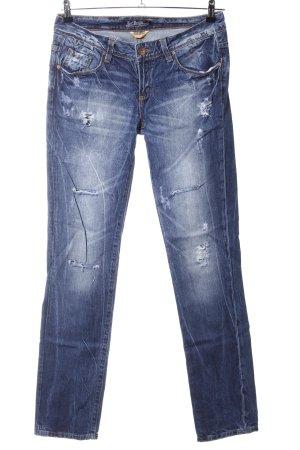 TRF Denim Boyfriendjeans blau Casual-Look