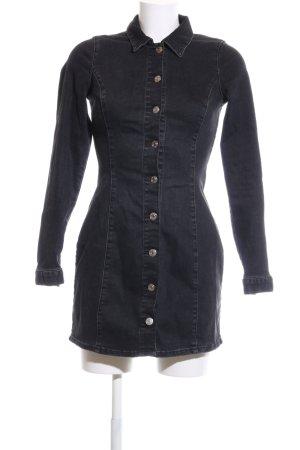 TRF Denim Jeanskleid schwarz Casual-Look