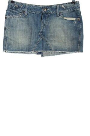 TRF Denim Denim Skirt blue casual look