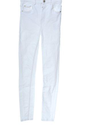 TRF Denim Skinny Jeans weiß Casual-Look