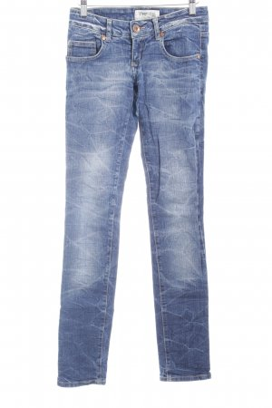 TRF Denim Skinny Jeans mehrfarbig Used-Optik