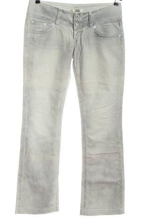 TRF Denim Straight-Leg Jeans hellgrau Casual-Look
