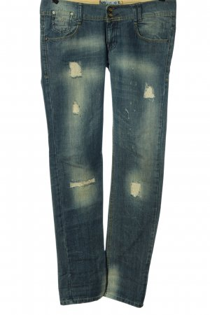 TRF Denim Straight-Leg Jeans blau Casual-Look