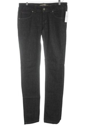 TRF Denim Straight-Leg Jeans anthrazit Casual-Look