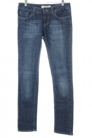 TRF Denim Straight-Leg Jeans stahlblau Casual-Look