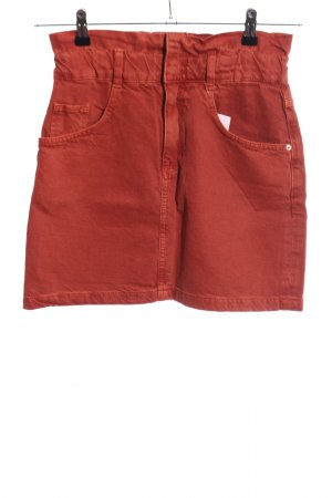 TRF High Waist Rock rot Casual-Look