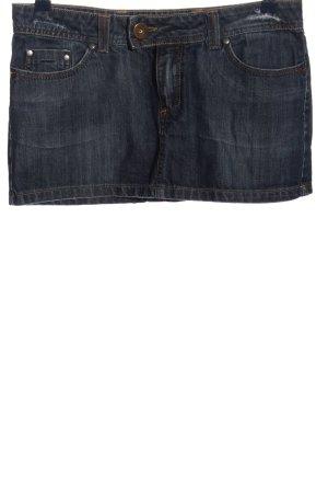 TRF Jeansrock blau Casual-Look