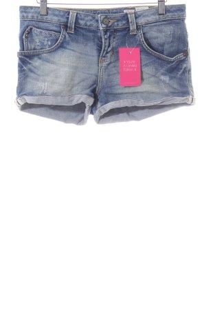 TRF Jeansshorts blau Casual-Look