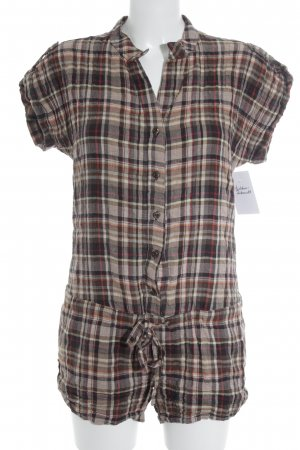 TRF Jumpsuit Karomuster Casual-Look